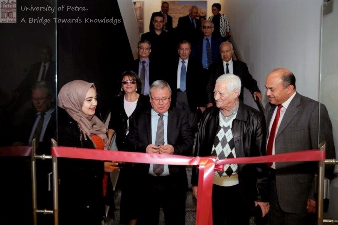 "Prof. Muwalla Opens Exhibition Entitled ""Our Story from Jordanian Girls University to University of Petra (UOP)"""