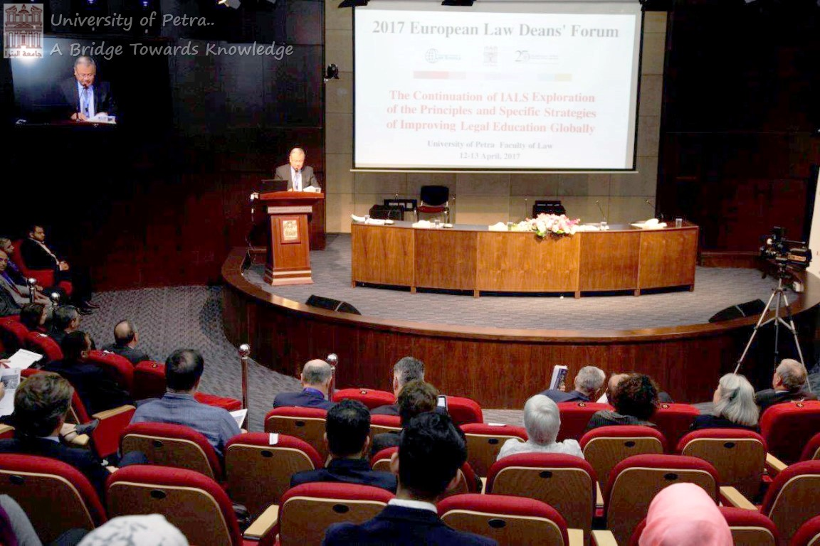 Launch of Conference on Improving Legal Education for Deans of European Law Schools at UOP