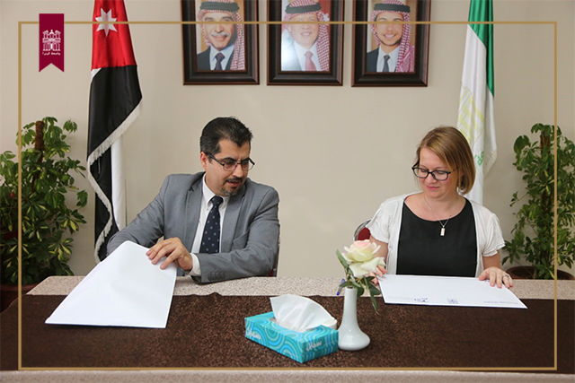 UOP, IFJordan Sign Training Agreement