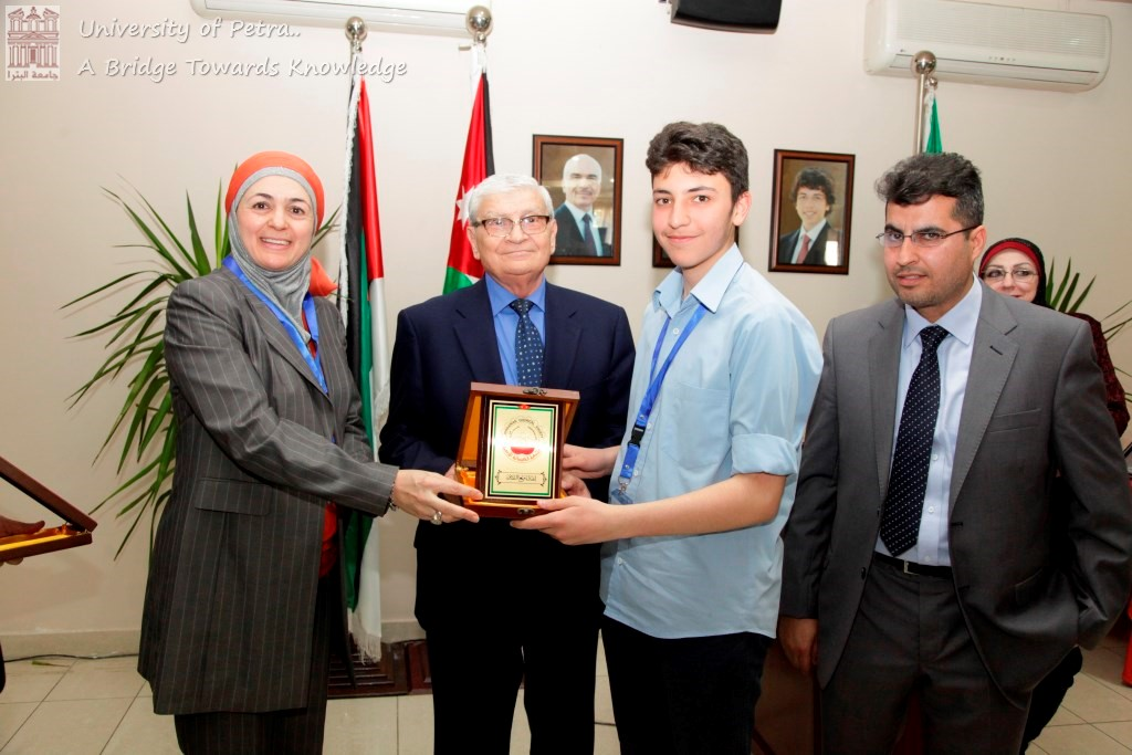 UOP Organizes Fourth Scientific Day and Hosts Jordanian Chemical Olympics