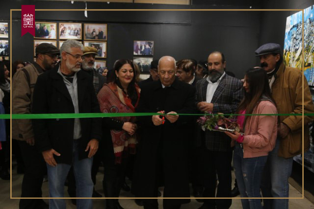 The University of Petra Holds an Exhibition in Cooperation with the Artists Association