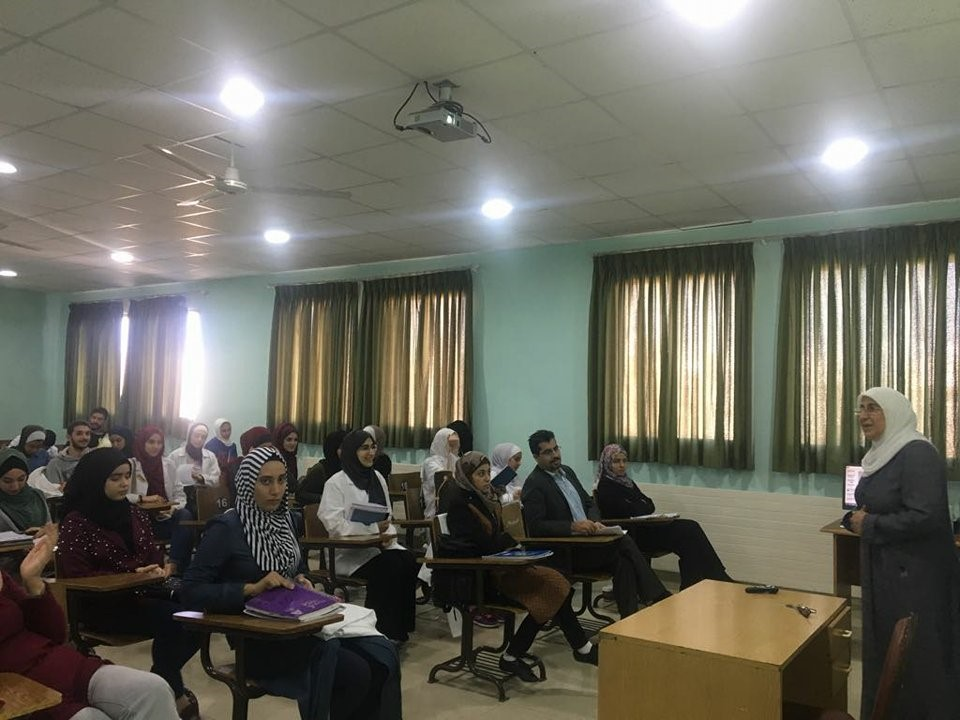 "UOP Organizes Lecture Entitled ""Public Safety in Laboratories"" on the Occasion of Arab Chemistry Week"