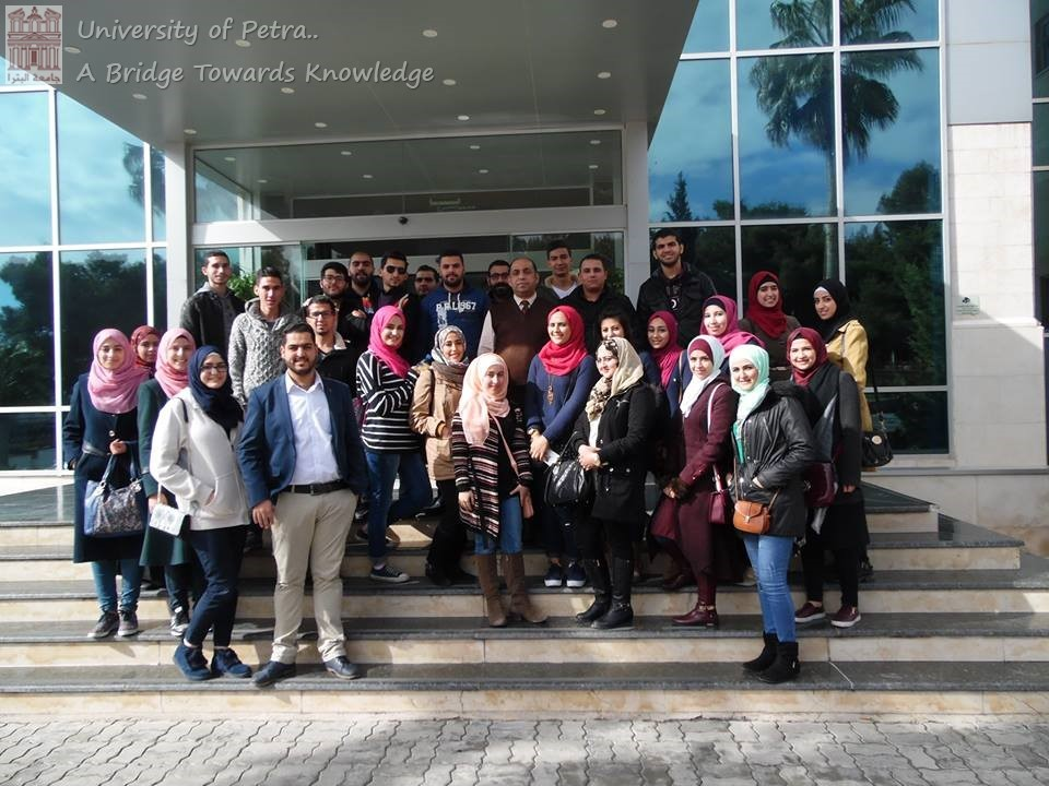 Chemistry students visits to the Royal Scientific Society and the King Hussein Cancer Center