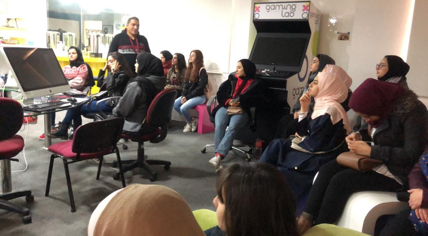UOP Multimedia Department Students Visit King Hussein Business Park