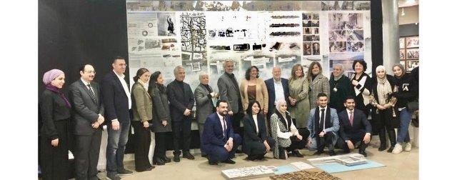 Architecture Students at University of Petra Discuss their Graduation Projects