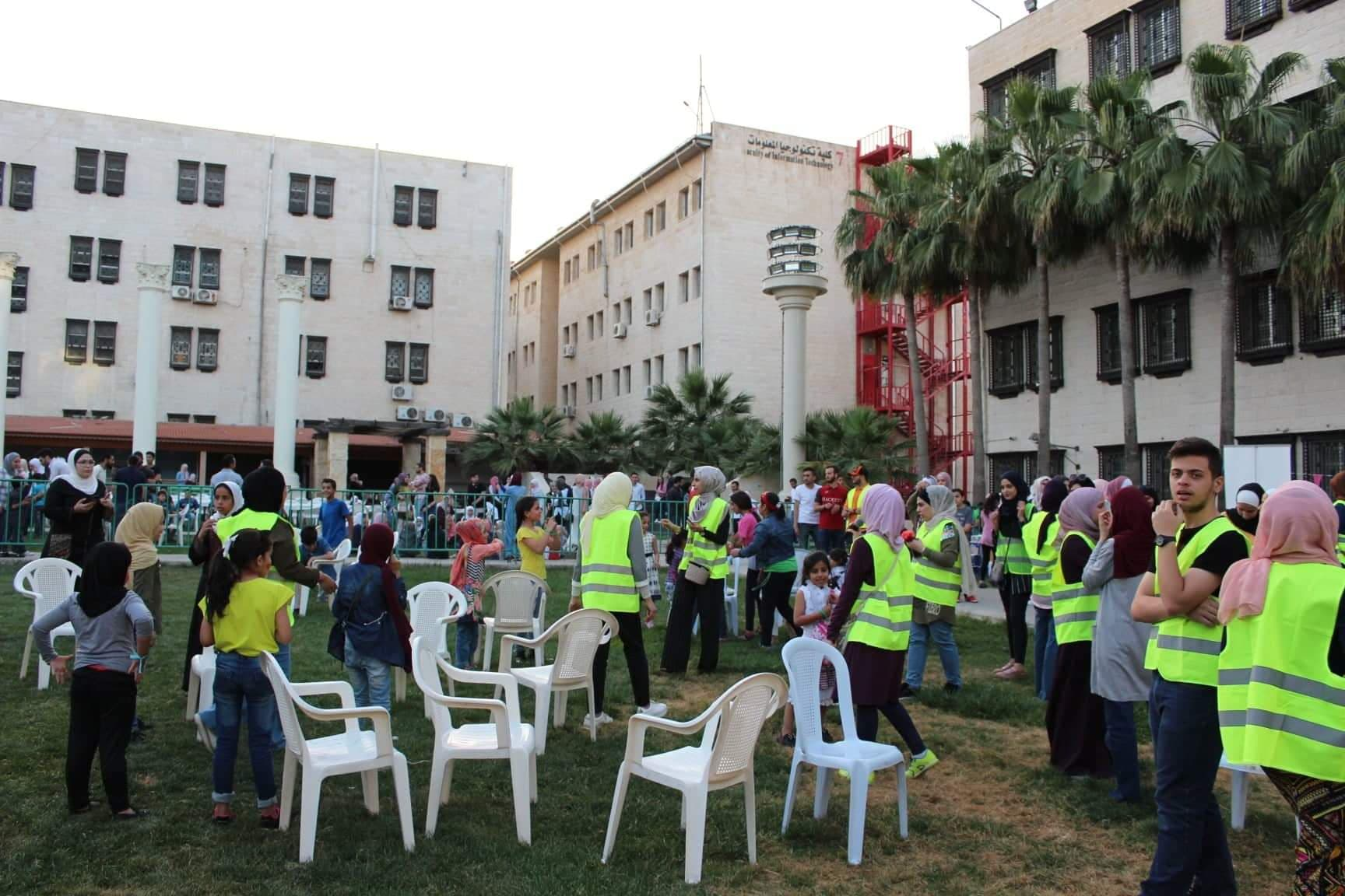 The Department of Chemistry at the University of Petra held a charity Iftar for the orphans in cooperation with the UAE Embassy