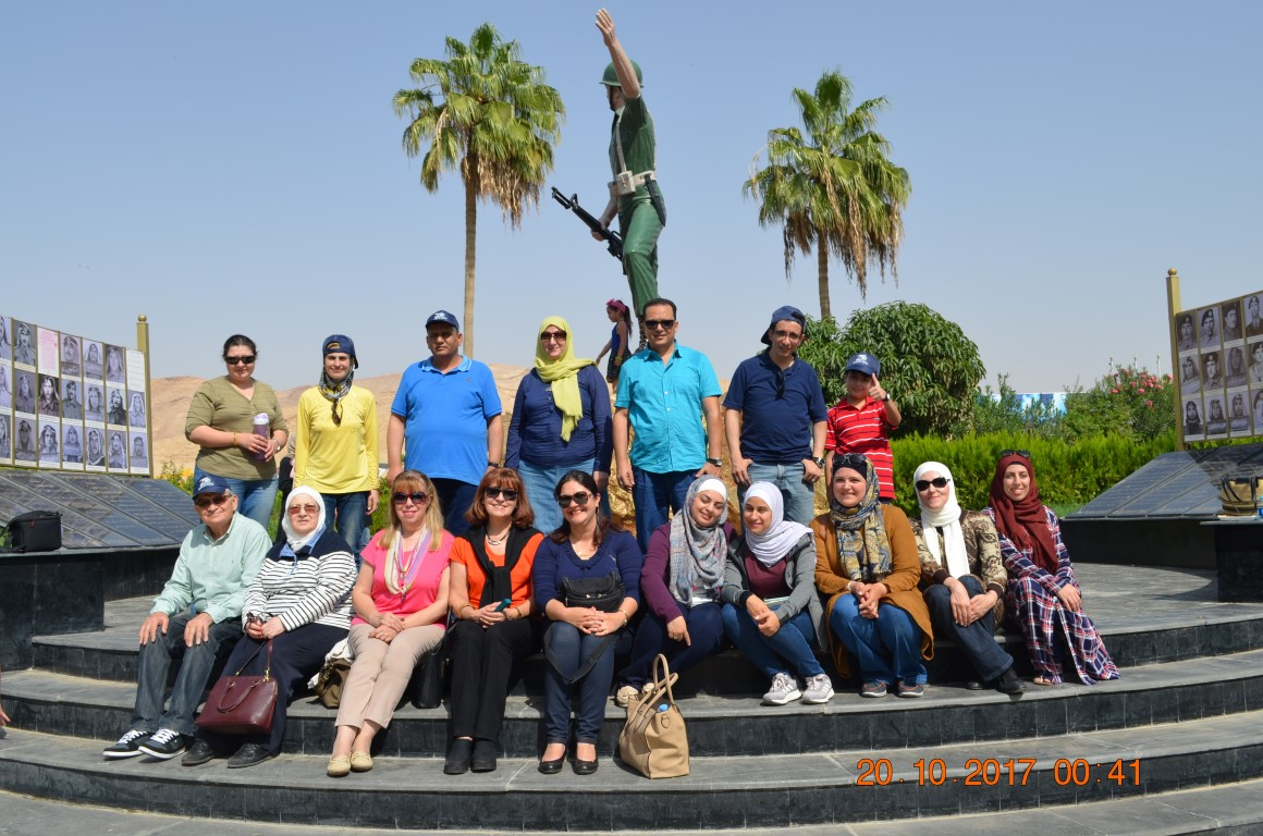 UOP Club Organizes Journey to Crown Plaza Hotel/Dead Sea, Visit to Tomb of the Unknown Soldier