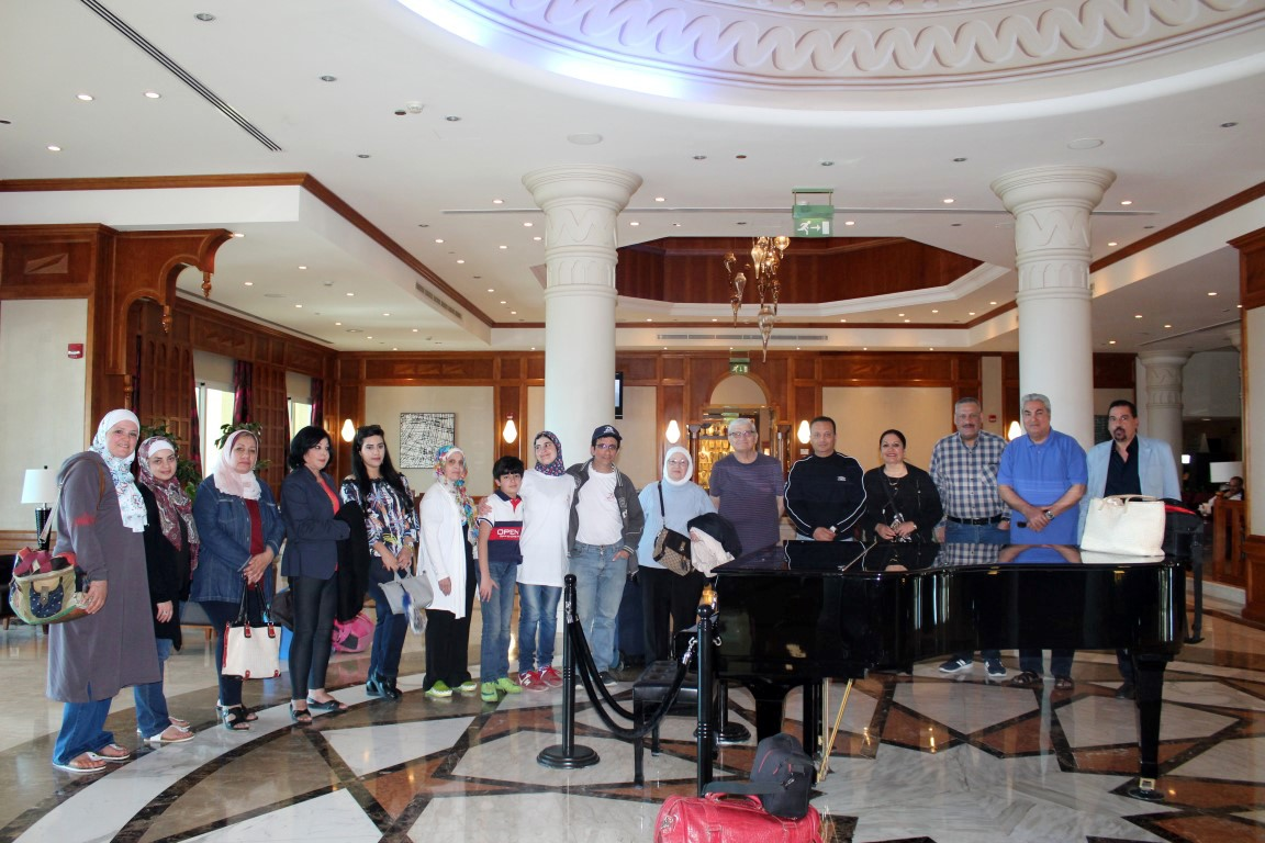 UOP Club Organizes Journey to Dead Sea, Dead Sea Panorama