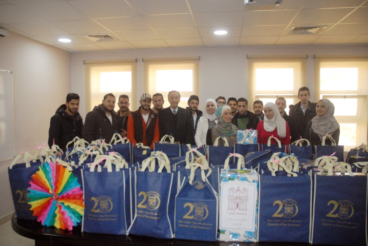 Marketing Students From Faculty Of Administrative And Financial Sciences Have Visited Pediatric Department At (KHCC)