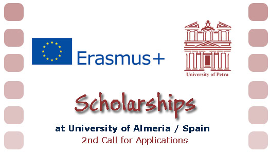 KA107 2nd Call for Applications Almeria University