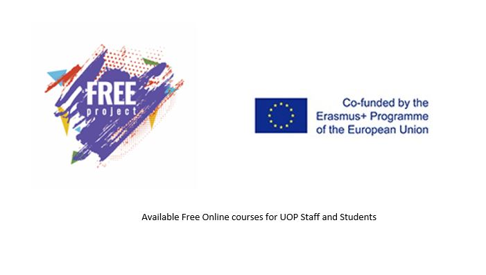 Online Workshops and Training Courses Offered by OFFER Office in collaboration with FREE ERASMUS+ Project